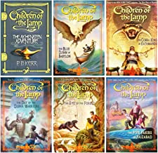 Children of the Lamp 6 Book Hardcover Set: Akhenaten Adventure / Blue Djinn of Babylon / Cobra King Kathmandu / Day of the...