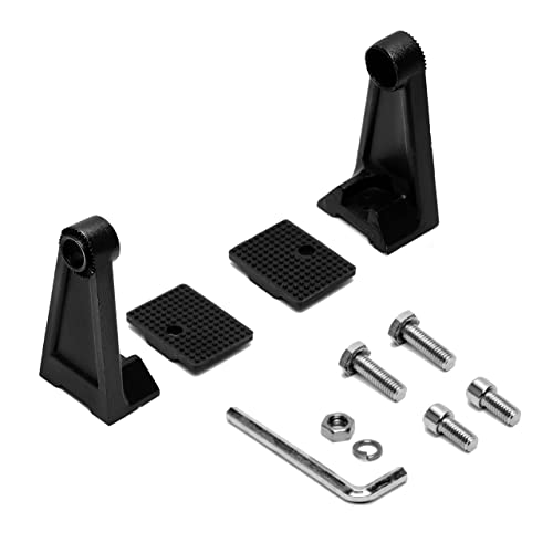 Two Rear Hatch Gas Charged Lift Supports with Replacement Mounting Brackets for 2003-2008 Nissan 350Z With Rear Spoiler Extra Pressure Supports for Heavier spoilers WGS-472-A-2 Wisconsin Auto Supply