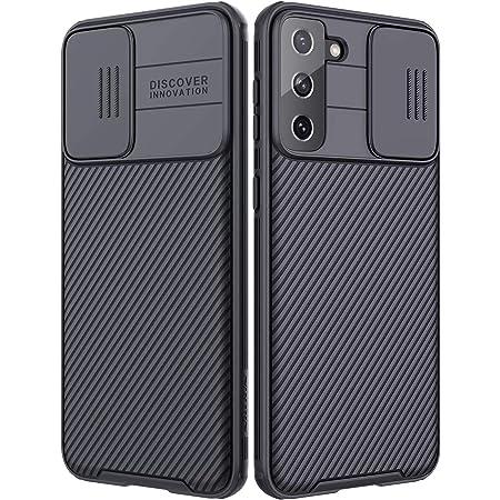 Wefor Funda para Samsung Galaxy S21+ (2021), CamShield Pro Series con Funda para cámara Deslizante, Funda Protectora Delgada y Elegante para Samsung Galaxy S21+ (2021) 5G
