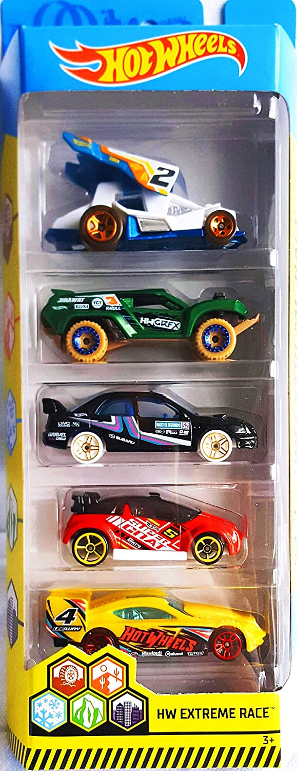 Hot Wheels 2019 HW Extreme Race Dirty Dune Crush Colorado Springs Mall 5-Pack Outlaw Large special price