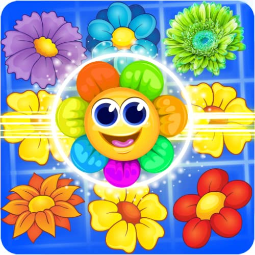Blossom Crush Match 3 Puzzle Game Free for Amazon Kindle Fire