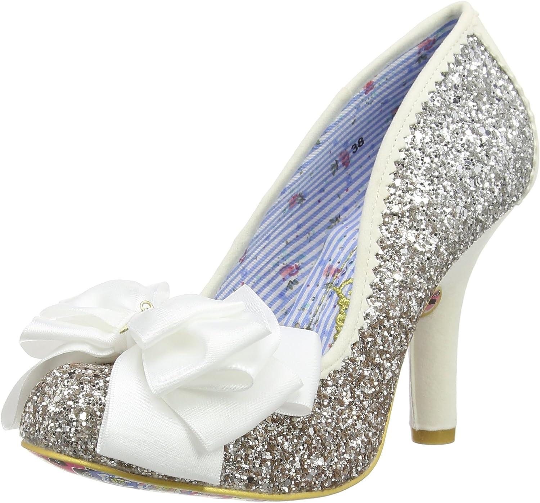 Irregular Choice Choice Choice kvinnor Ascot Glitter skor  online-försäljning