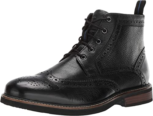 Nunn Bush Men's Odell Oxford, negro Tumble, 9.5 M US