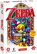 Auf Ins Puzzle Adventures with The Legend of Zelda–The Wind Waker The Hero of Hyrule (360Pieces) with Poster The Motif in Original Size