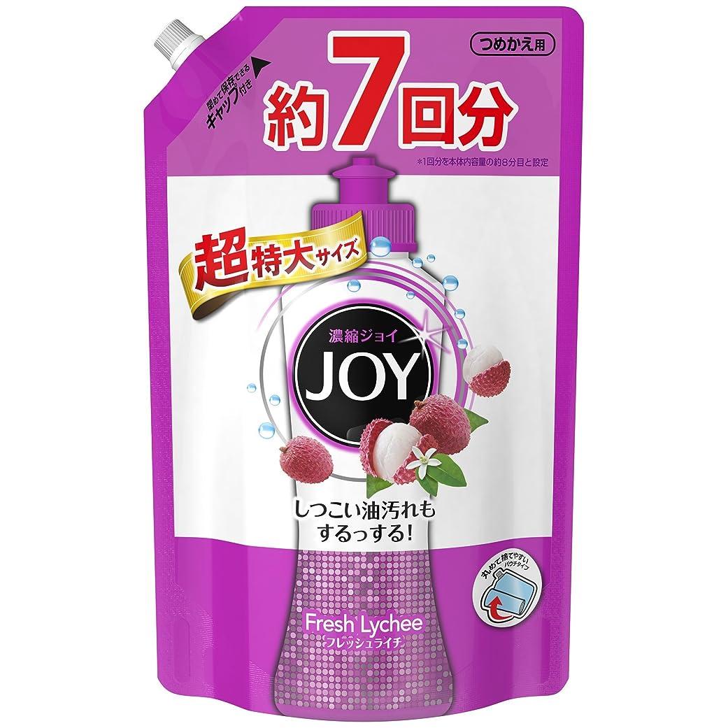 雹家主タイルジョイ コンパクト 食器用洗剤 フレッシュライチの香り 詰め替え 超特大 1065mL