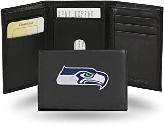 Rico Seattle Seahawks Embroidered Tri Fold Wallet