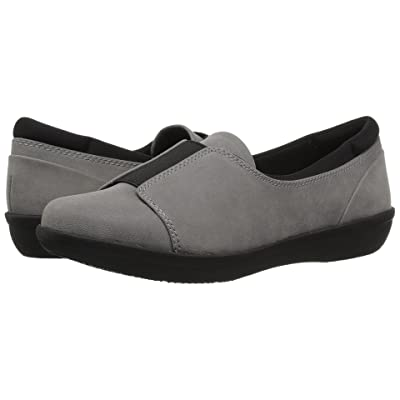 Clarks Ayla Band (Grey Synthetic) Women