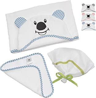 coyuchi hooded organic cotton baby towel