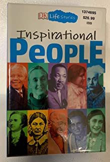 Life Stories Inspirational People 10 Books Collection with Bookmarks and a Fun write-On Poster: Mandela, Goodall, Hamilton, Johnson, Gandhi, Keller, Nightingale, Einstein, King Jr, & Frank