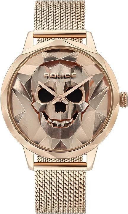 Orologio da donna police 32015078 analogico al quarzo, in metallo PL16074MSR.32MM