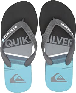 Quiksilver Kids - Molokai Slash Logo (Toddler/Little Kid/Big Kid)