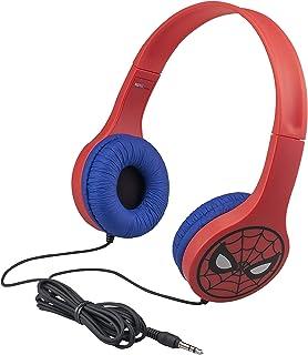 ekids Spider Man Headphones, SM V126, rot, SM V126
