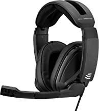 EPOS Sennheiser GSP 302 Gaming Headset with Noise-Cancelling Mic, Flip-to-Mute, Comfortable Memory Foam Ear Pads, Headphones for PC, Mac, Xbox One, PS4, Nintendo Switch, and Smartphone compatible.
