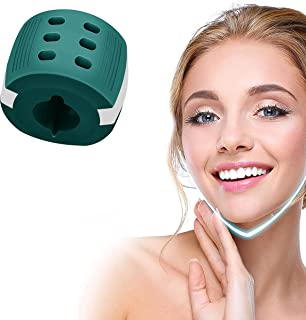 ESIOP   Jawline Exerciser   Jaw Trainer   Double Chin Reducer   Jawline Shaper   Facial Toner   Jaw Strengthener   Jaw Exerciser for Women Men   Define Your Jawline and Tone Your Neck Shape