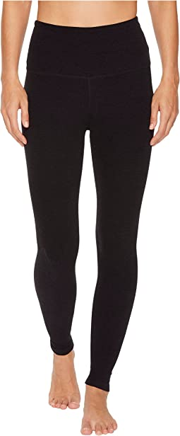 High Waist Midi Leggings