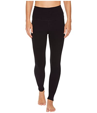 Beyond Yoga Spacedye High Waisted Midi Leggings (Darkest Night) Women