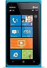 Nokia Lumia 900 AT&T GSM Unlocked 4G LTE RM-808 Windows 7.5 Smartphone - Cyan Blue
