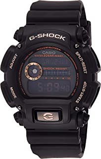 GSHOCK Men's Automatic Wrist Watch digital Display and Resin Strap, DW9052GBX-1A4