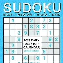 2017 Sudoku Daily Desktop Calendar