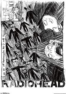 Trends International Radiohead - Scribble Wall Poster, 22.375
