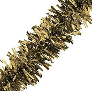 Brite Star 12ft Vintage Tinsel, Gold