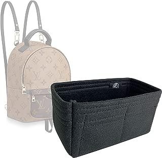 Zoomoni LV Palm Springs Mini Backpack Insert Organizer - Premium Felt (Handmade/20 Colors)