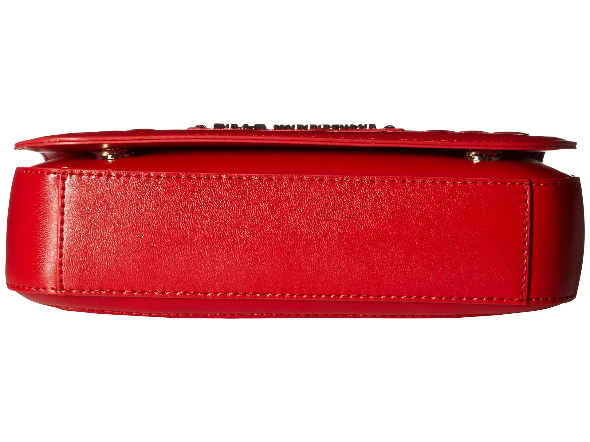 Shoulder Quilted Moschino Red Bag Shinny Love w0pqp