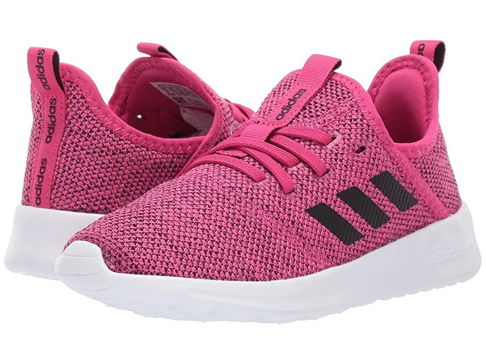 adidas Kids Cloudfoam Pure (Little Kid/Big Kid) (Real Magenta/Core Black/Grey Two) Kid
