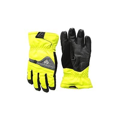 Obermeyer Kids Lava Gloves (Little Kids/Big Kids) (Green Flash) Extreme Cold Weather Gloves