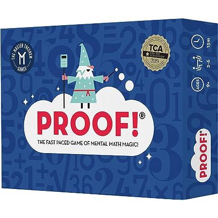 プルーフ 数学ゲーム – 高速ペースゲーム – 教師の選択受賞歴のある教育ゲーム 9歳以上