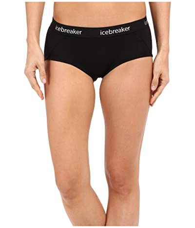 Icebreaker Sprite Hot Pant (Black/Black) Women