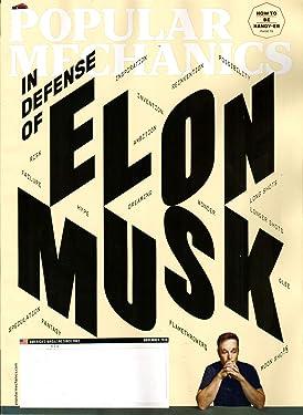 Popular Mechanics Magazine November 2018 | In Defense of Elon Musk