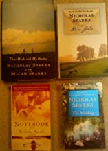 Nicholas Sparks Set: The Notebook, The Wedding, Dear John and Three Weeks with My Brother (The Notebook, The Wedding, Dear...