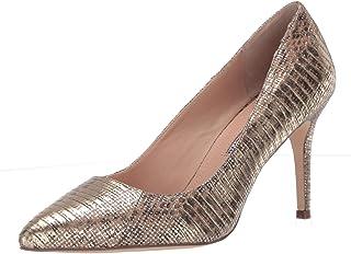حذاء بكعب متوسط للنساء من Charles David ، فضي