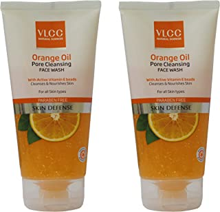 VLCC Orange Oil Pore Cleansing Face Wash Combo (150g*2) (Pack of 2)