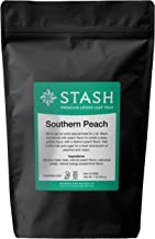 Stash Tea Loose Leaf Tea Southern Peach Black 1 Pound Pouch  Loose Leaf Premium Black Tea for Use with Tea Infusers Tea Strainers or Teapots, Drink Hot or Iced, Sweetened or Plain