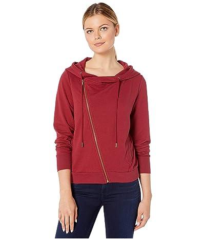 Skinnygirl Courtney Moto Knit Jacket (Biking Red) Women