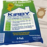 Kirby 6 Cloth Vacuum Bags Allergen Reduction Filters