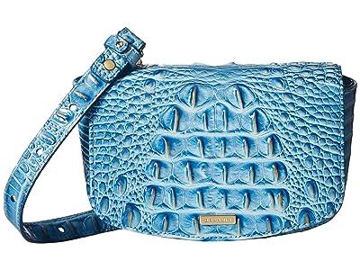 Brahmin Melbourne Lil (Cerulean) Handbags