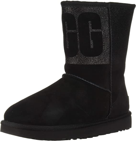 UGG Women's W Classic Short Sparkle Fashion Boot