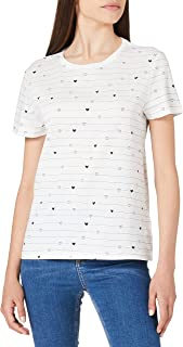 TOM TAILOR Denim Alloverprint Camiseta para Mujer