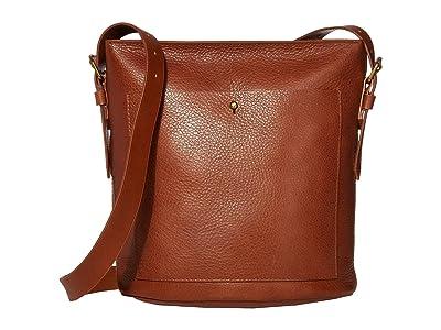 Madewell Classic Transport Bucket Bag (English Saddle) Handbags