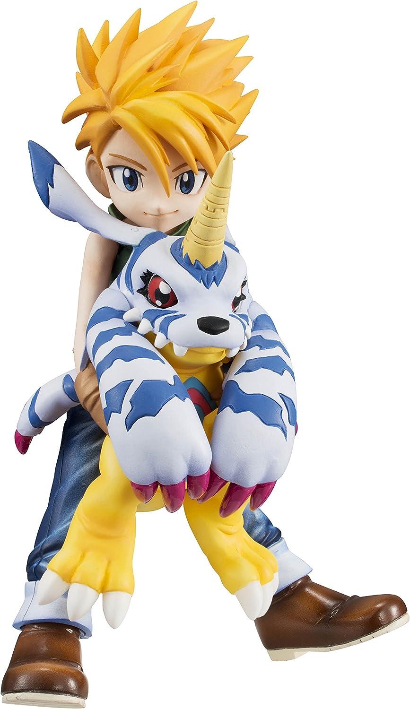 muchas sorpresas Digimon Adventure G.E.M. Series Ishida Yamato & & & Gabumon 1 10 Scale PVC Figura  tienda de pescado para la venta