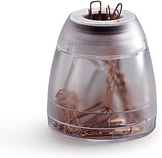 Durable Trend 1709051400 - Dispensador de clips, transparente