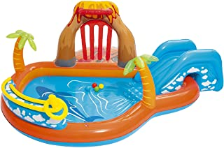 Bestway 53069 Lava Lagoon - Piscina Hinchable Infantil, 265x265x104 cm