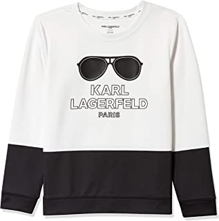 Karl Lagerfeld Paris Women's Karl Sunglass Sweatshirt