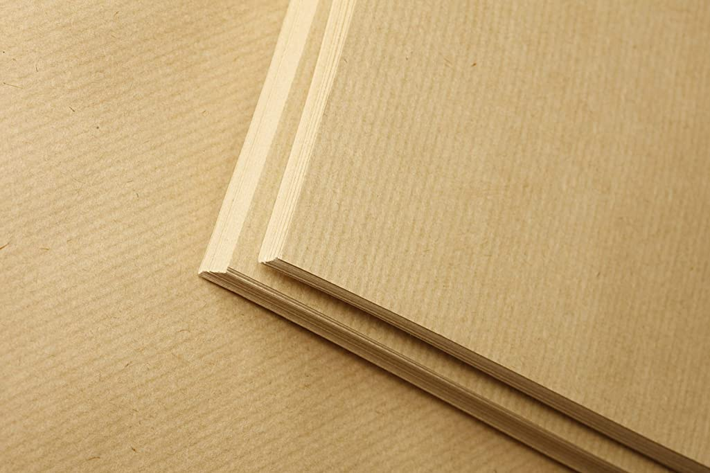 Clairefontaine Kraft Paper, 90 g, A3 - Brown, 125 Sheets
