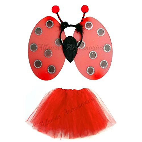 Girls Ballerina Bumble Bee Mini Beast Carnival Fancy Dress Costume Outfit 3-6yr