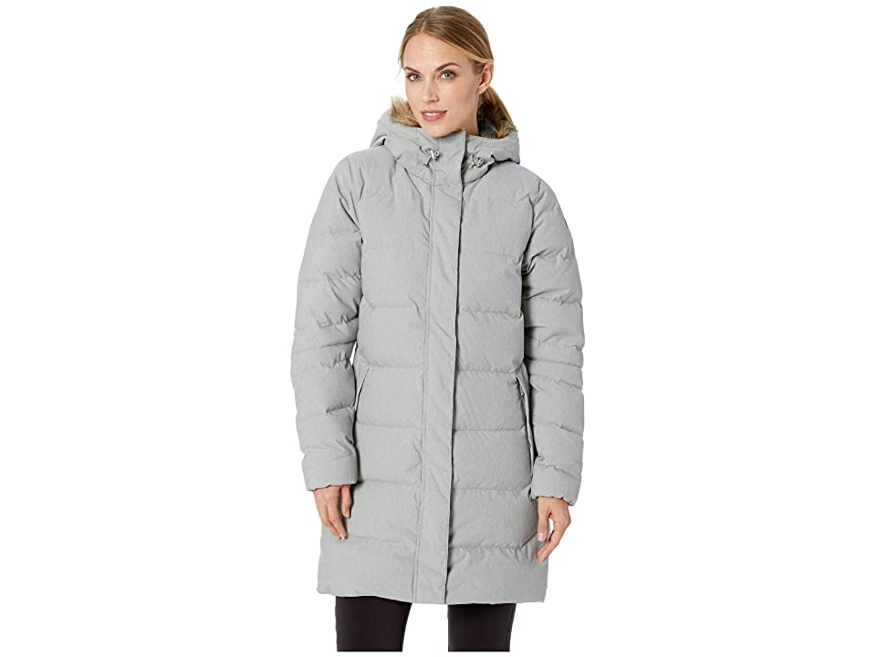 Helly Hansen Aden Down Parka (Grey Melange) Girl