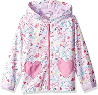 Girls' Peppa All Over Print Raincoat